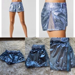Beach Riot Metallic Short